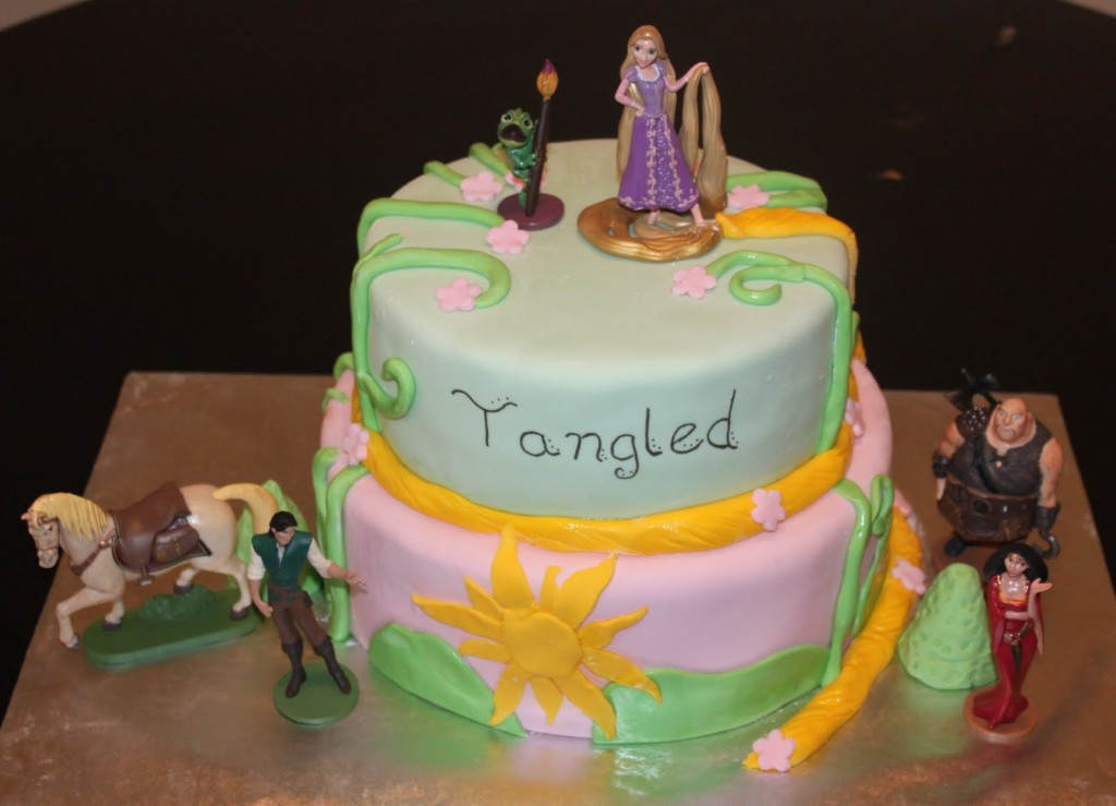 Rapunzel Cake Toppers