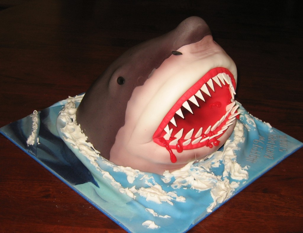 Shark Birthday Cakes