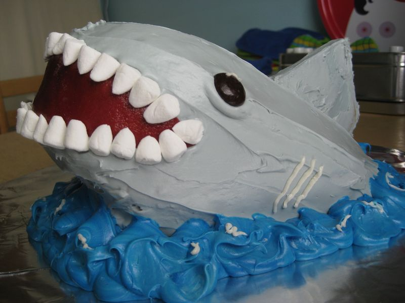 Shark Cake Ideas