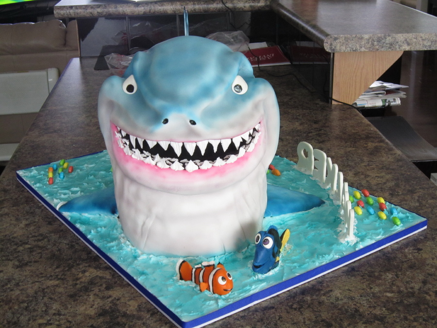 Shark Cakes For Children