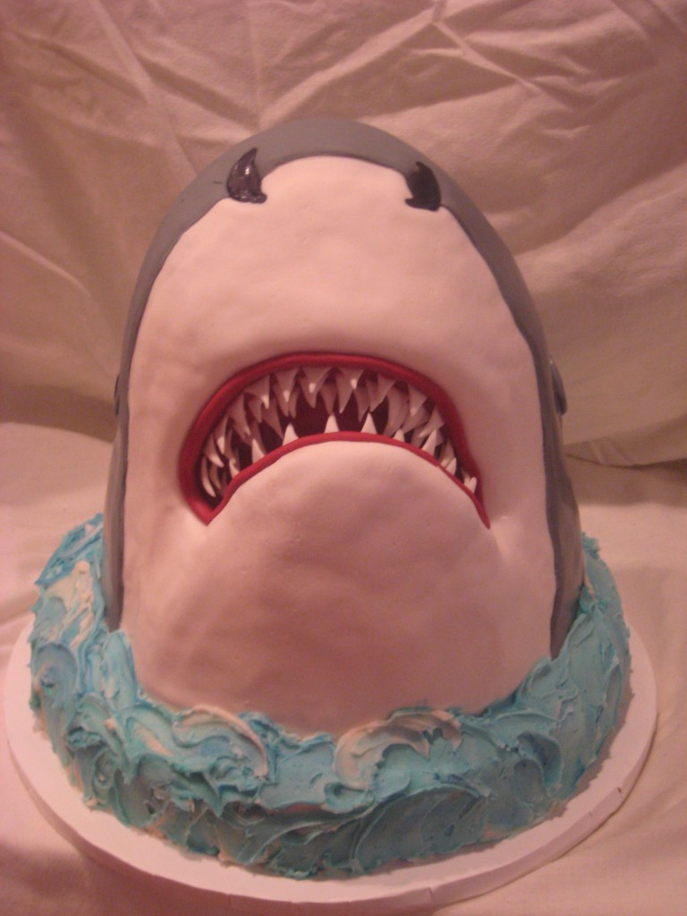 Shark Cakes Images
