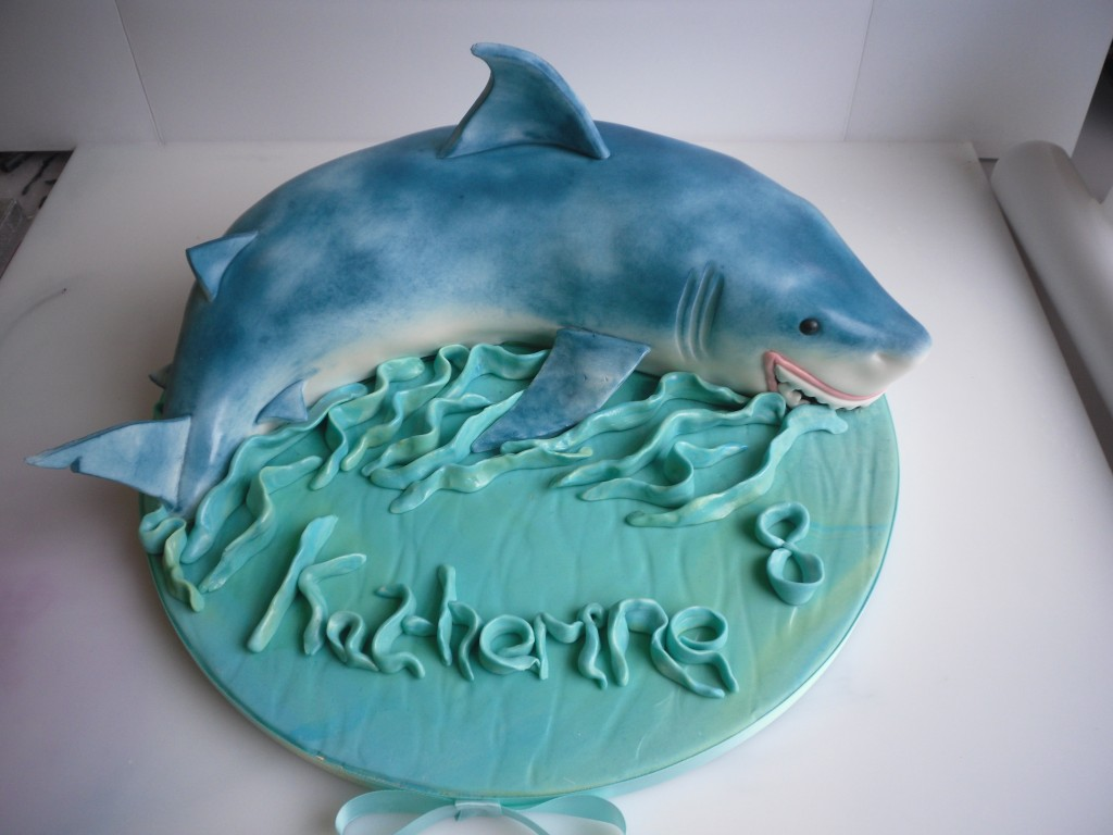 Shark Cakes Photos