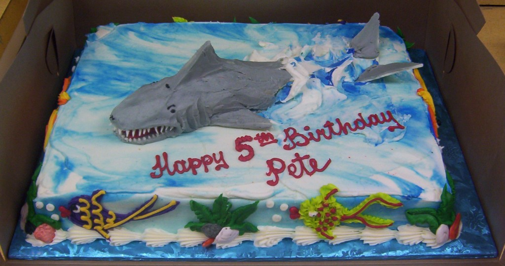 Shark Cakes Pictures