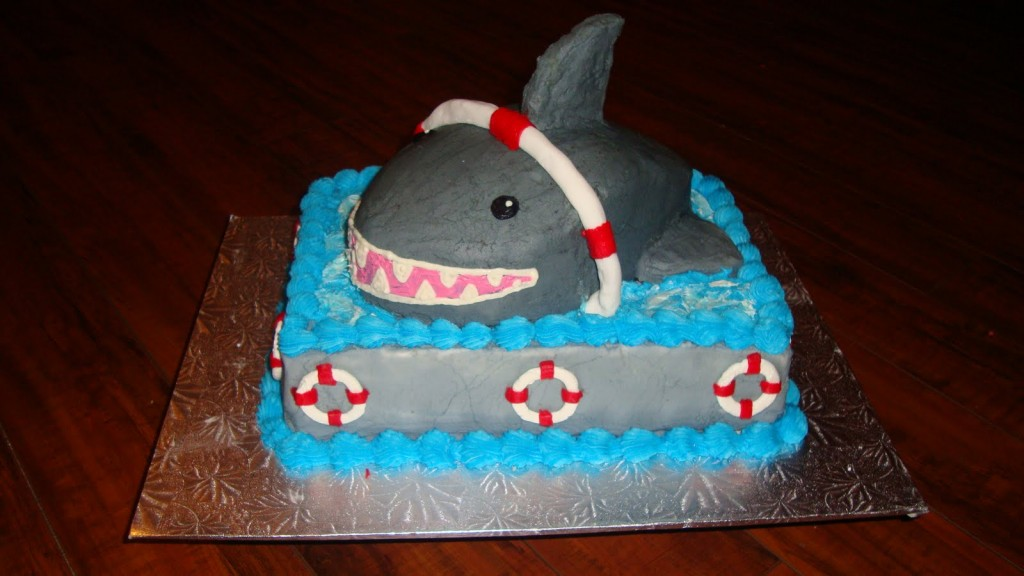 Shark Tank Cake