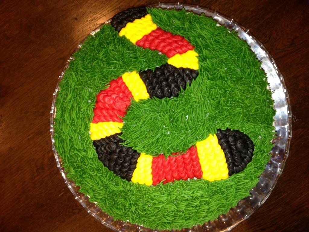 Snake Birthday Cake Ideas