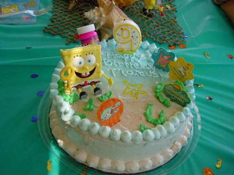 Spongebob Cake Pictures