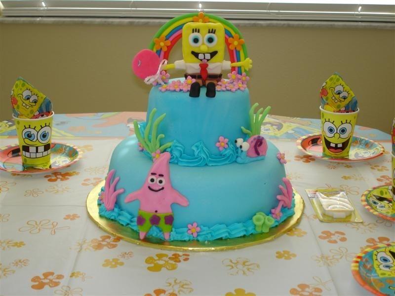 Spongebob Cake Topper