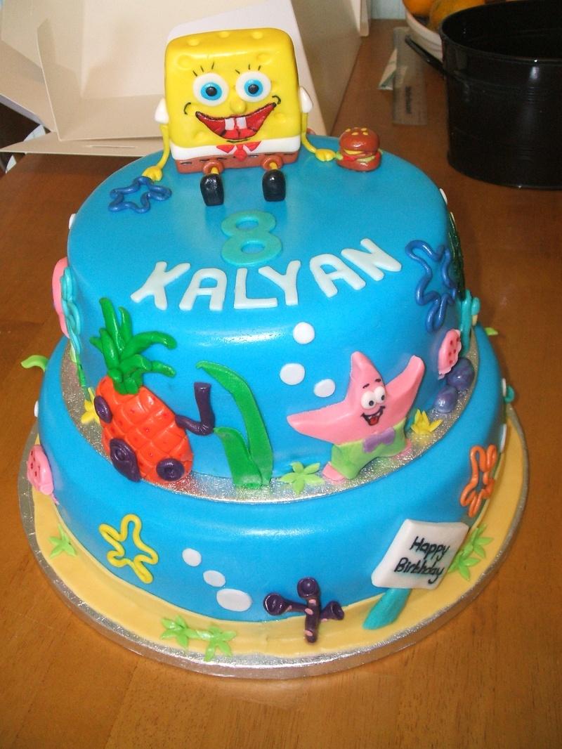 Spongebob Cakes Decoration Ideas Little Birthday Cakes