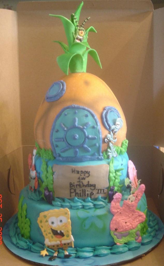 Spongebob Squarepants Cakes