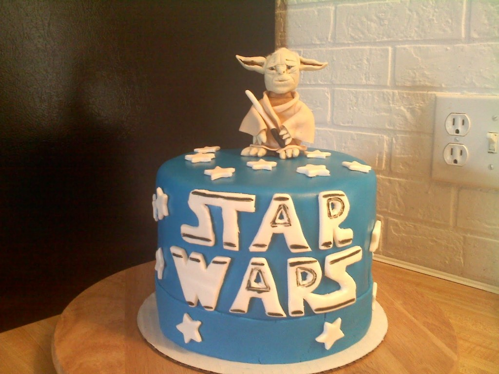 Star Wars Birthday Cake Designs