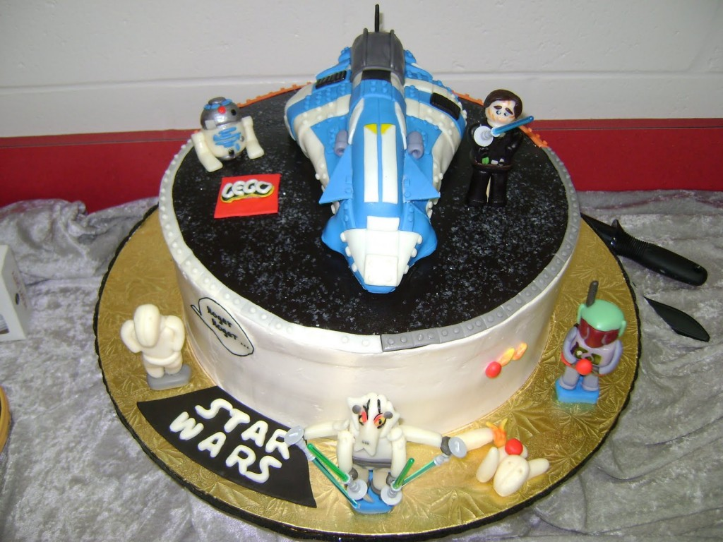 Star Wars Birthday Cakes For Kids