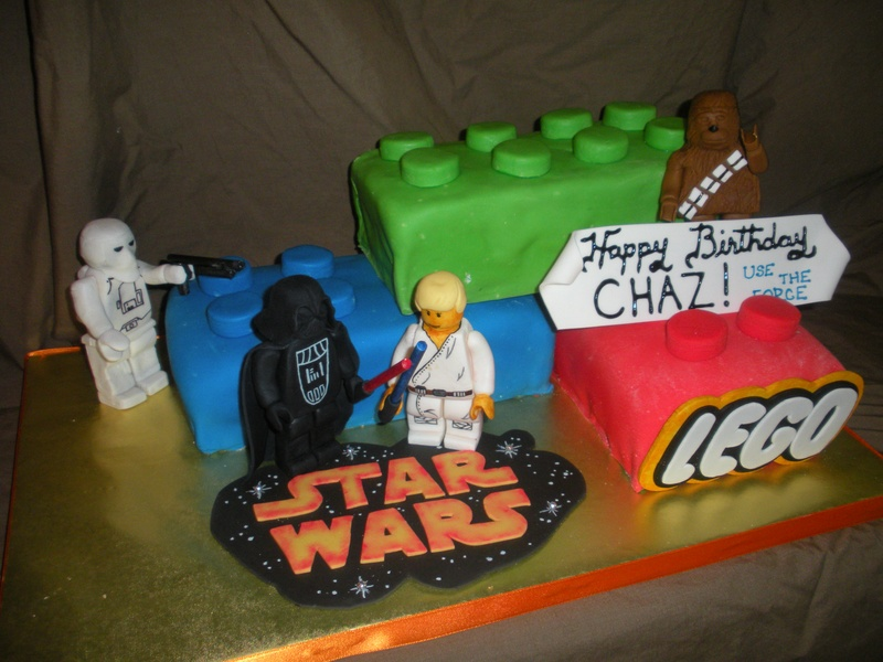Star Wars Lego Cakes