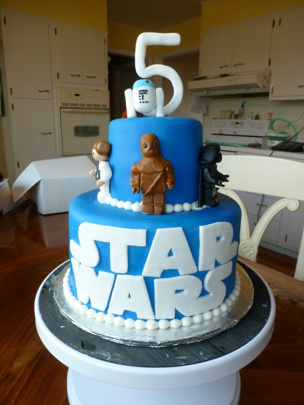 Star Wars Theme Cakes