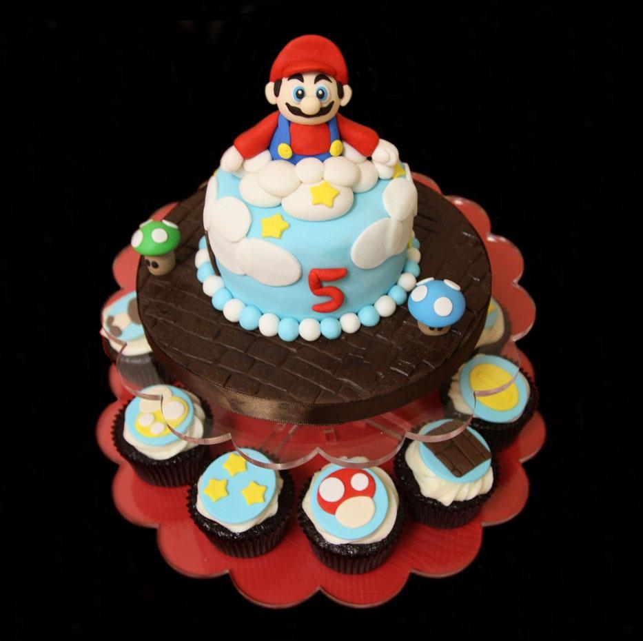 Super Mario Bro Cakes