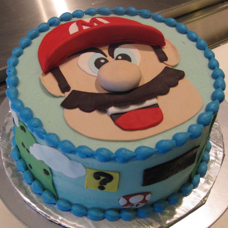 Super Mario Bros Cake Pan