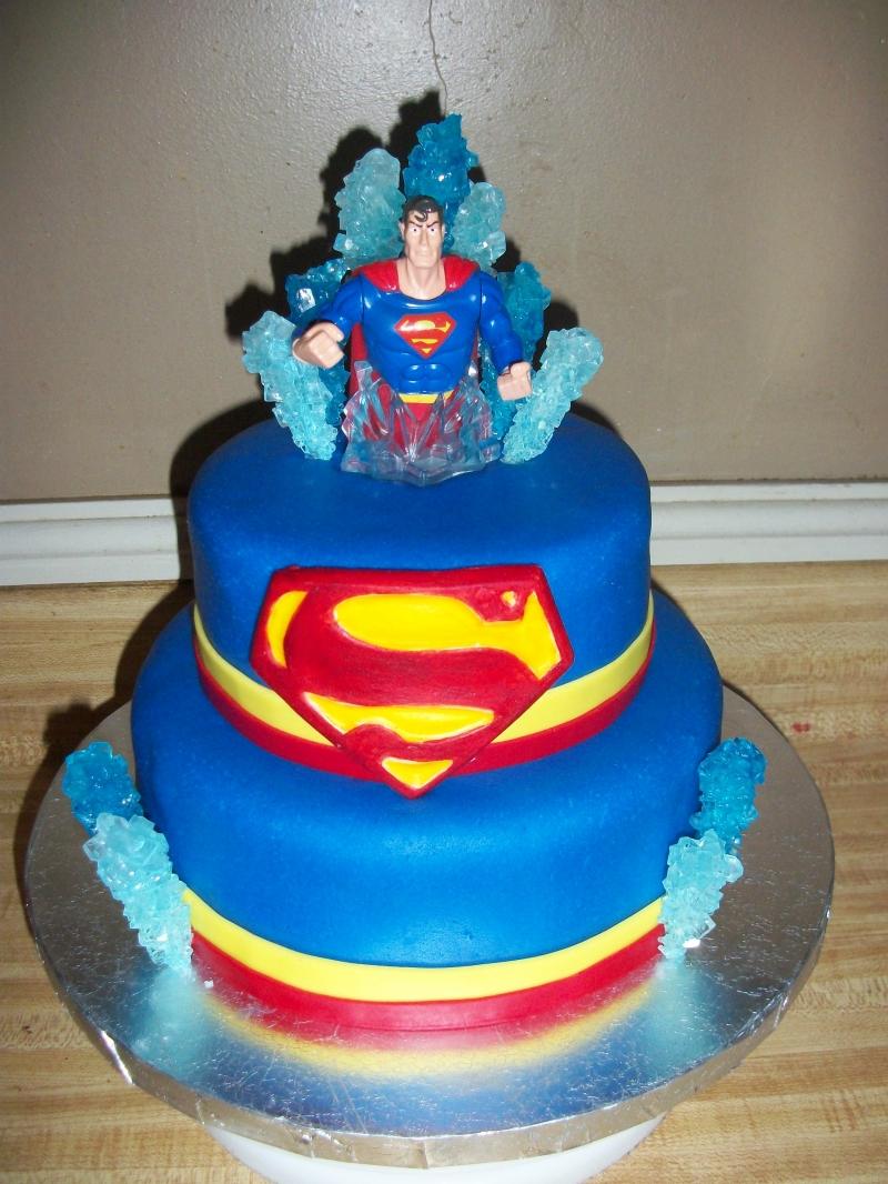Superman Birthday Cake Decorations