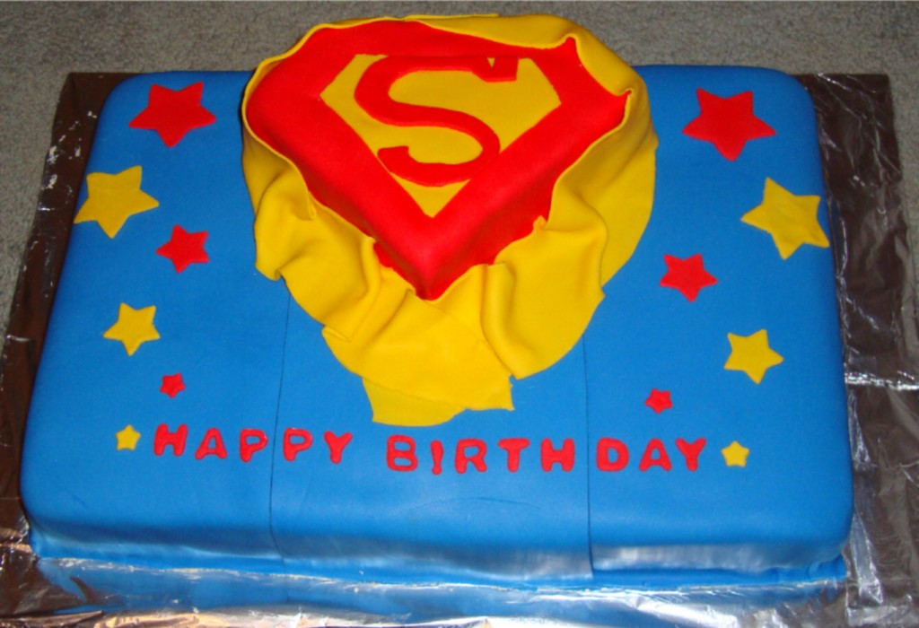 Superman Cakes For Kids