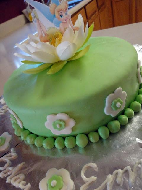 Tinkerbell Birthday Cake Ideas