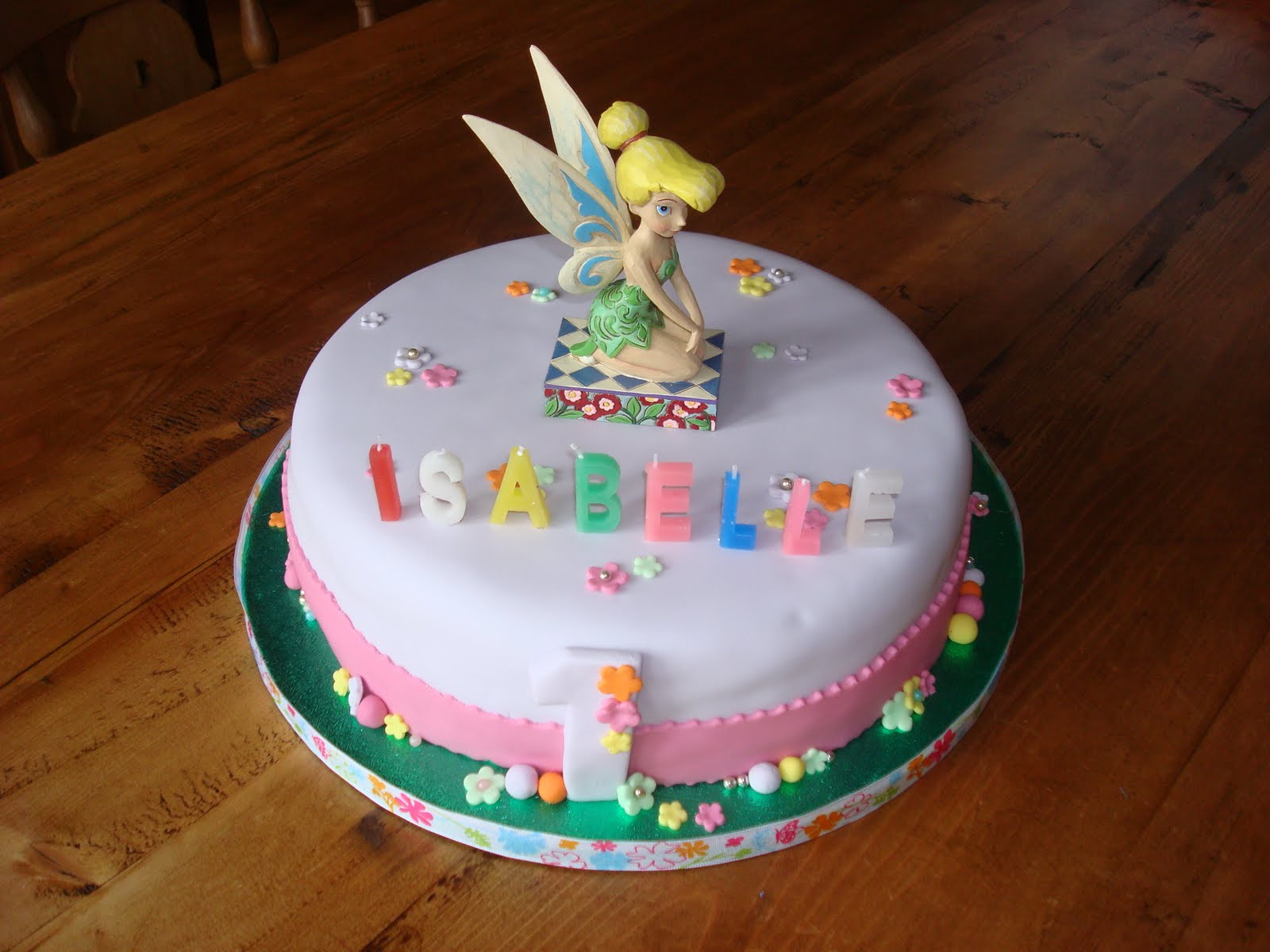Brilliant Tinkerbell Cakes Decoration Ideas Little Birthday Cakes Personalised Birthday Cards Cominlily Jamesorg