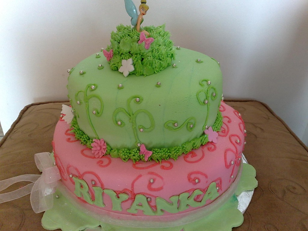 Tinkerbell Cake Images