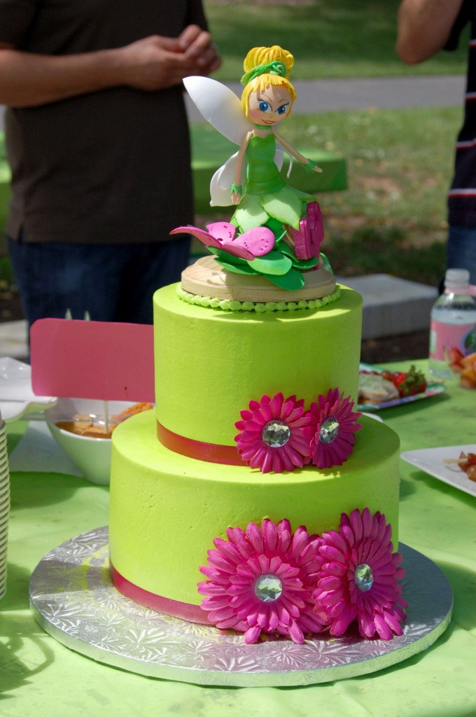 Tinkerbell Cake Pictures
