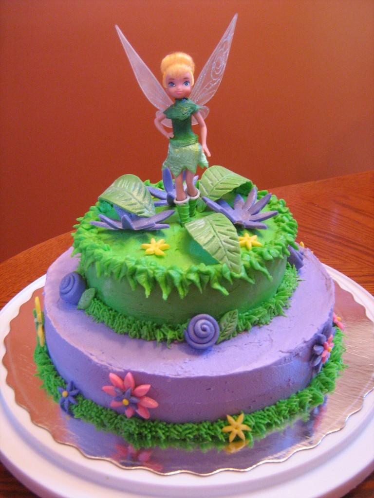 Tinkerbell Cake Topper Set