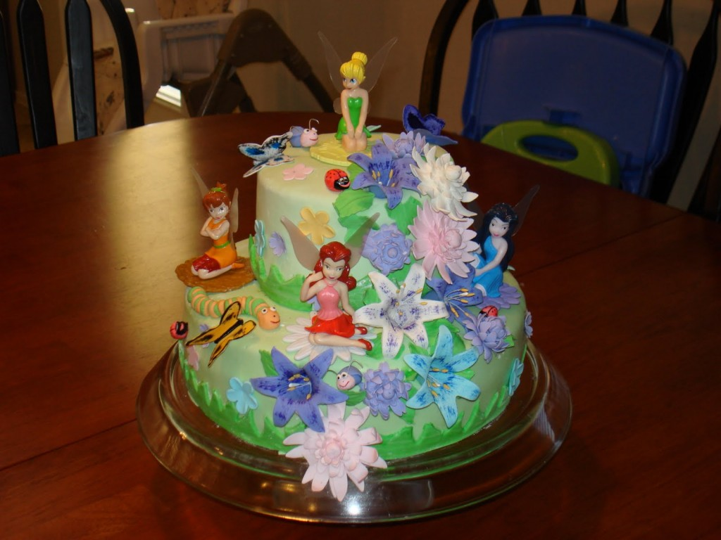 Tinkerbell Cakes Pictures