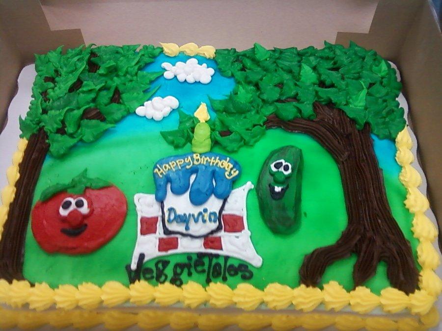 Veggie Tales Cake Pan
