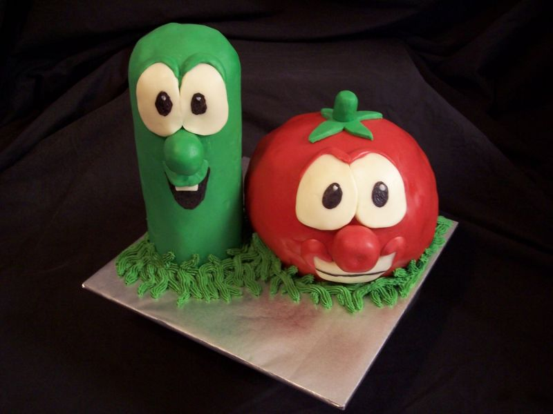 Veggie Tales Cake Pictures