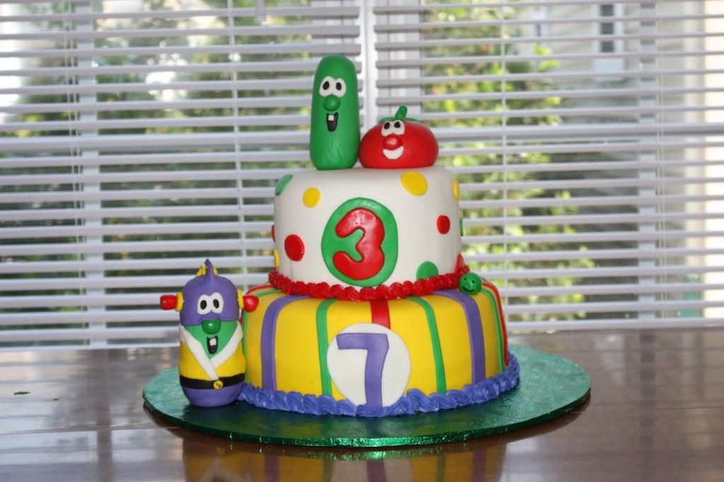 Veggie Tales Cakes