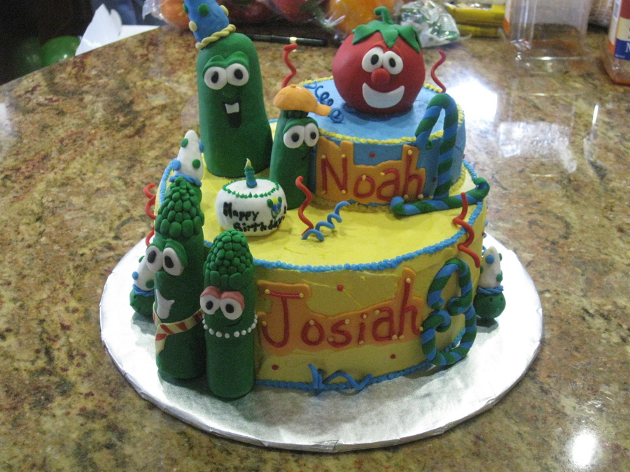 Veggie Tales Cakes Images