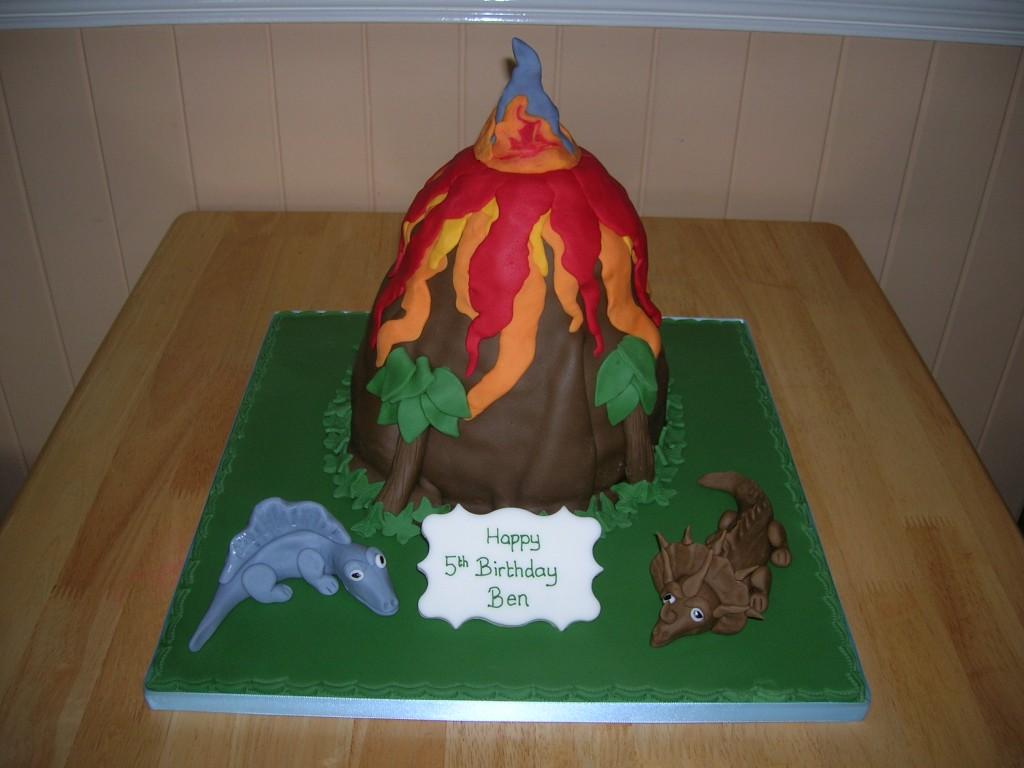 Volcano Cake For Kids