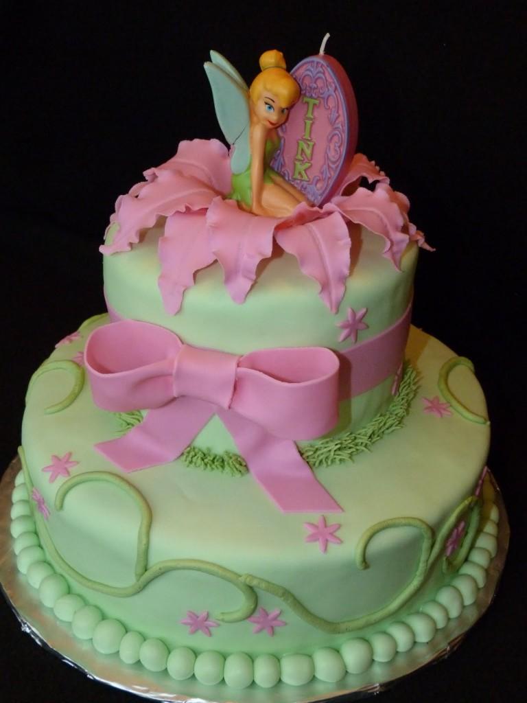 Walmart Tinkerbell Cake