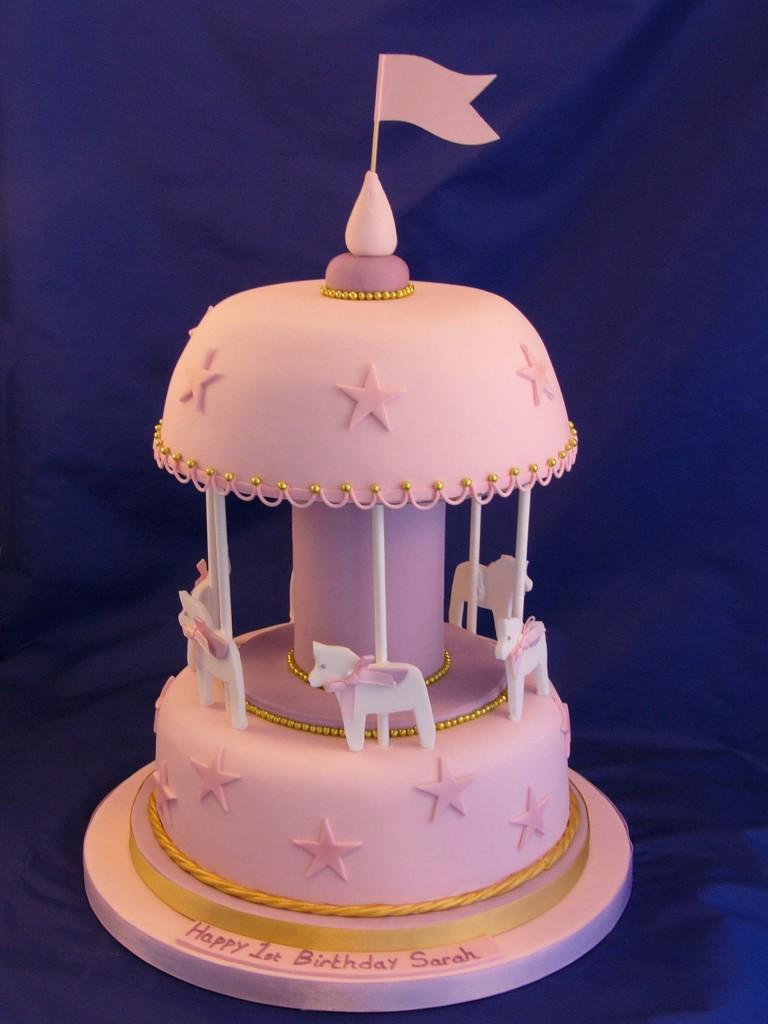 Wilton Carousel Cake