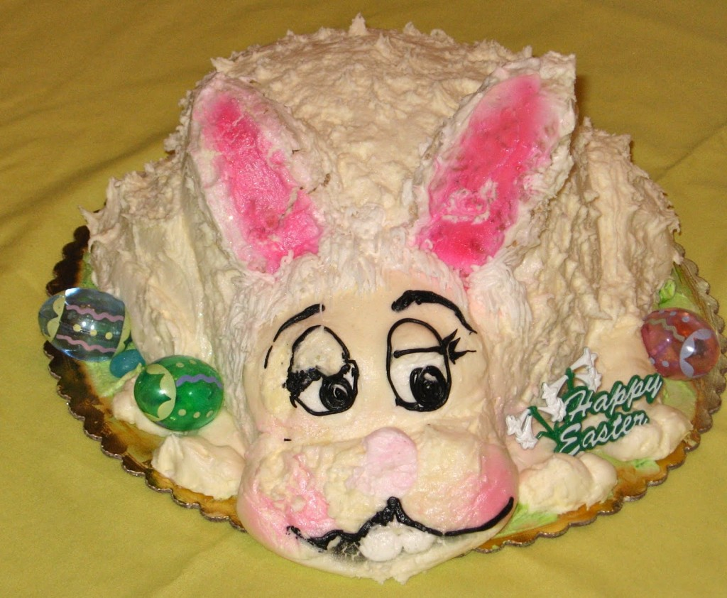 Wilton Easter Bunny Cake