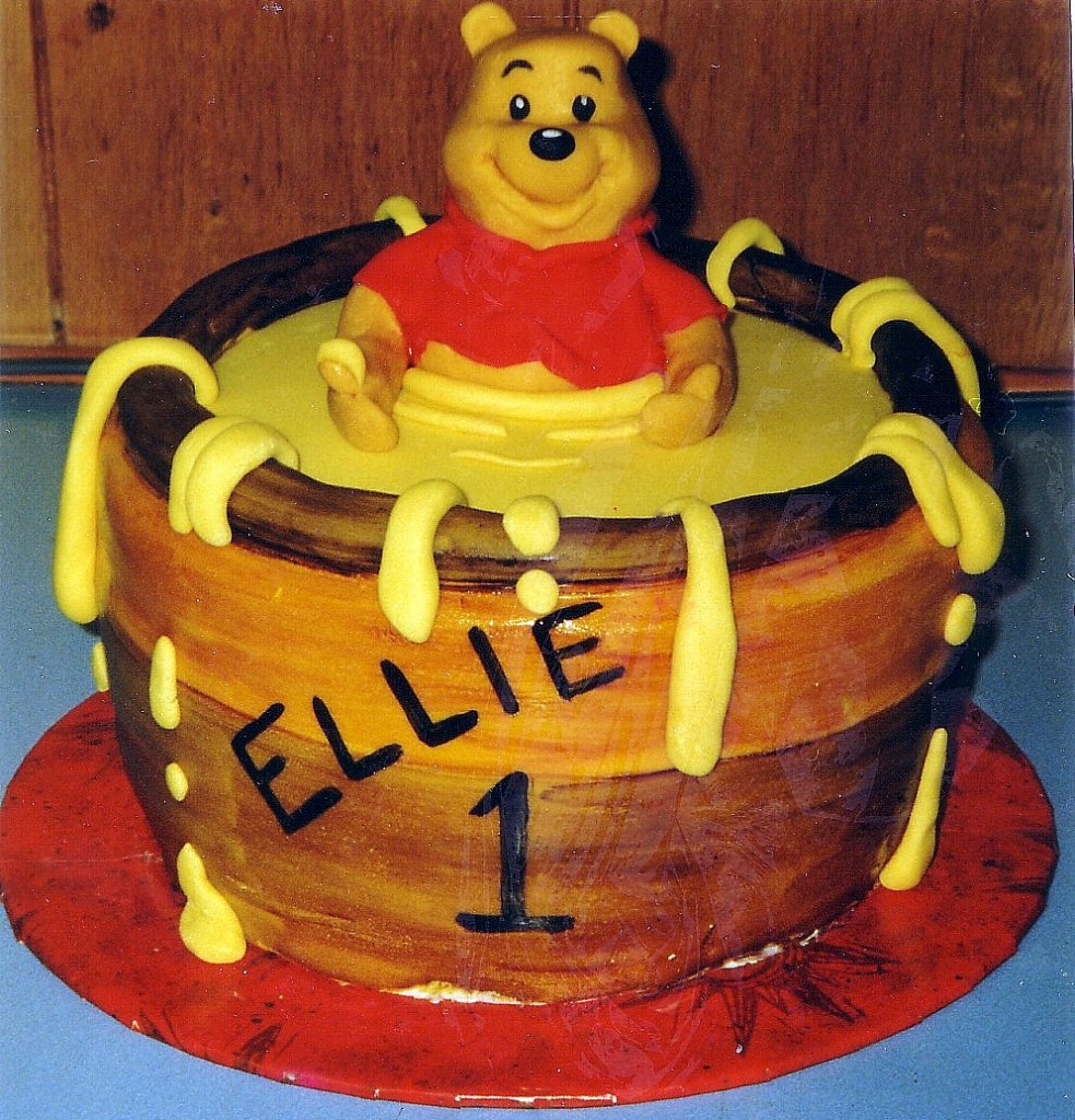 Winnie The Pooh Baby Cakes