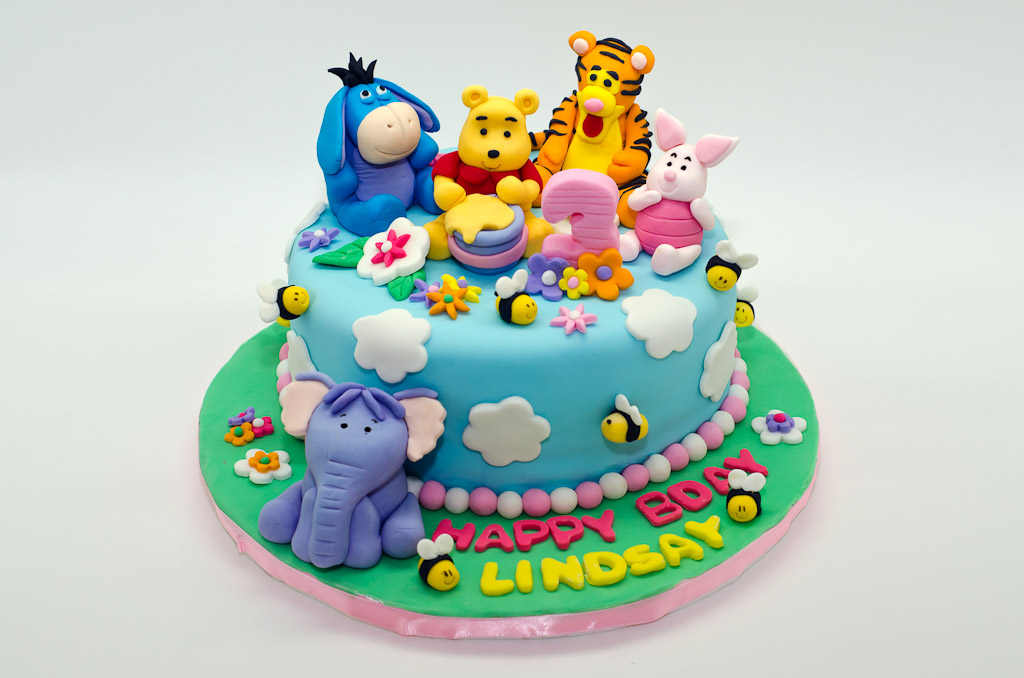 Winnie The Pooh Cake Decorations