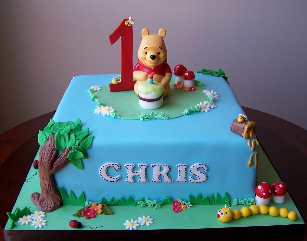 Winnie The Pooh Cake Designs