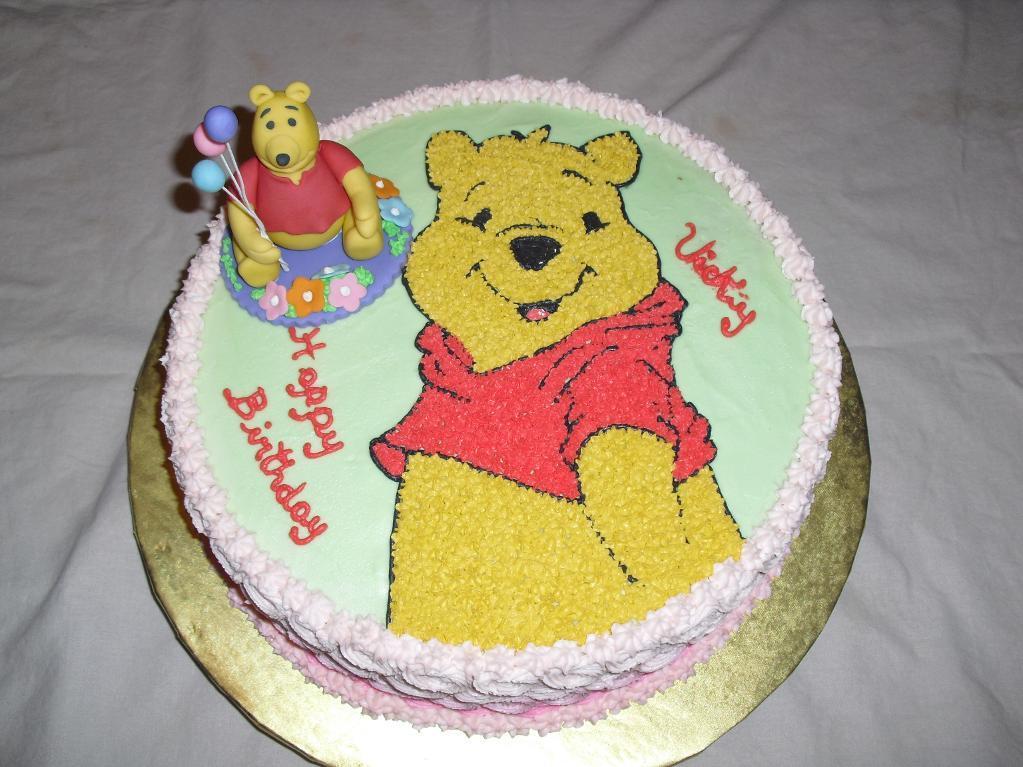 Winnie The Pooh Honey Pot Cake