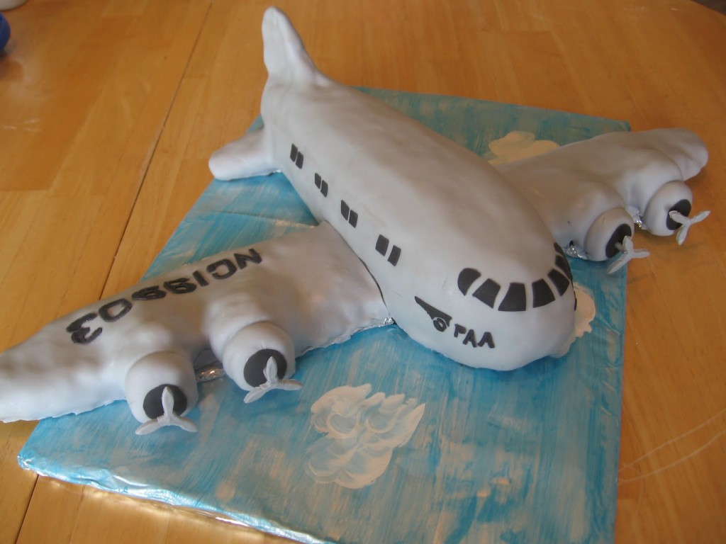 Airplane Cakes Photos