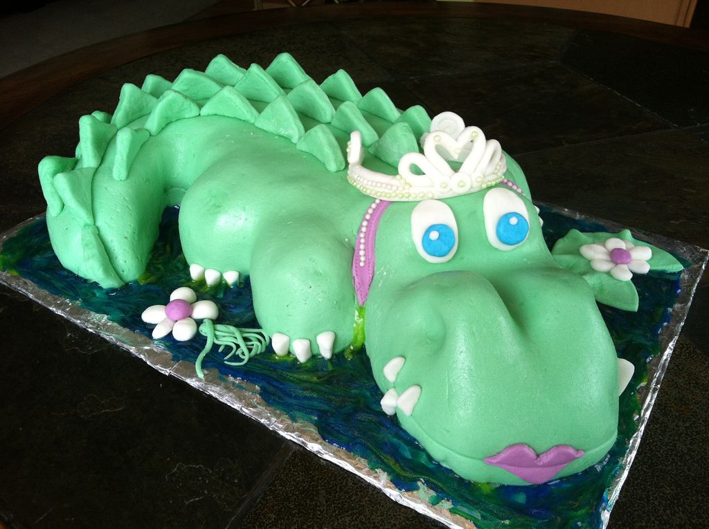 Alligator Cake Ideas