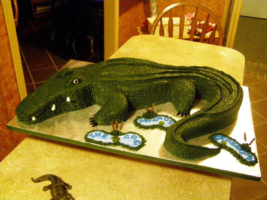 Alligator Cakes Photos