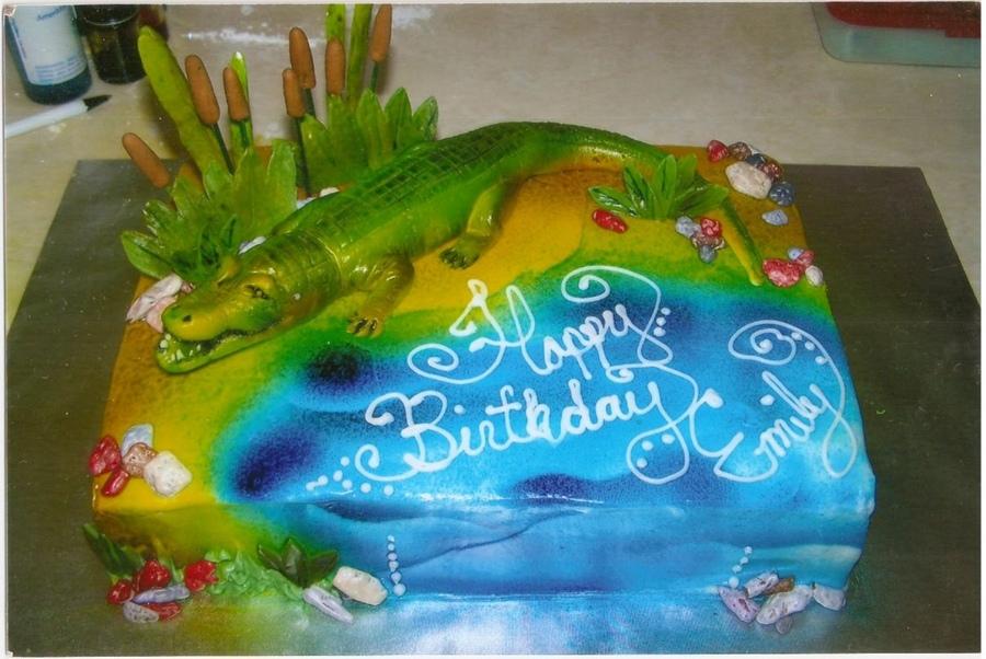 Alligator Cakes Pictures