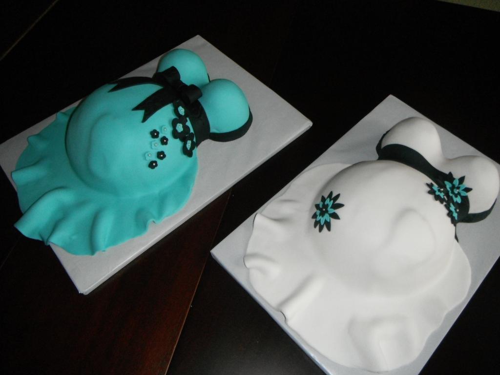 Baby Bump Birthday Cake