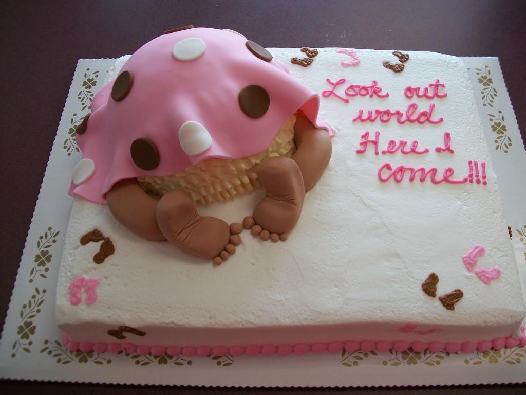 Baby Bump Birthday Cakes