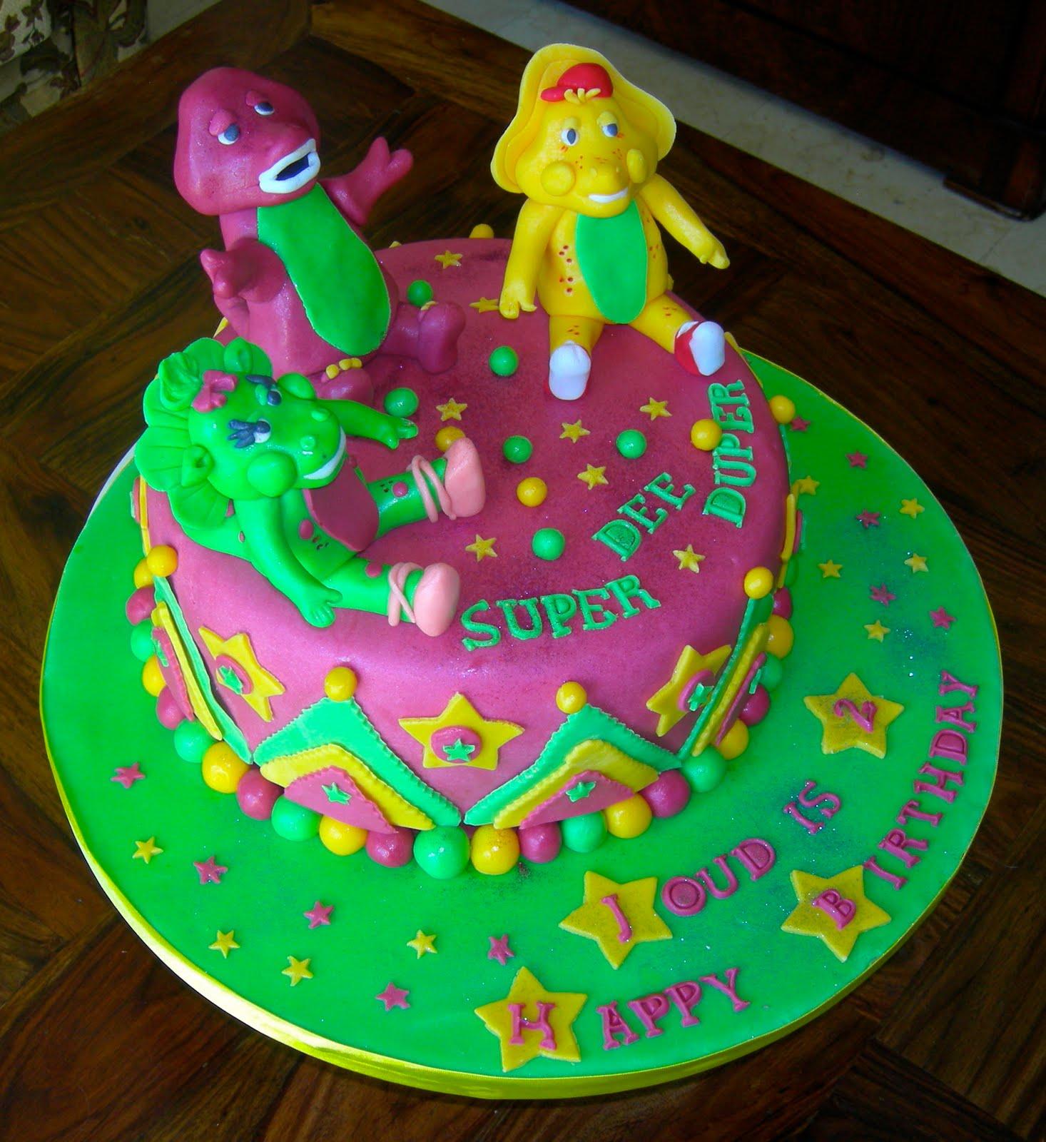 Marvelous Barney Cakes Decoration Ideas Little Birthday Cakes Personalised Birthday Cards Xaembasilily Jamesorg