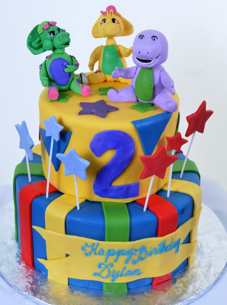 Barney Cake Pictures