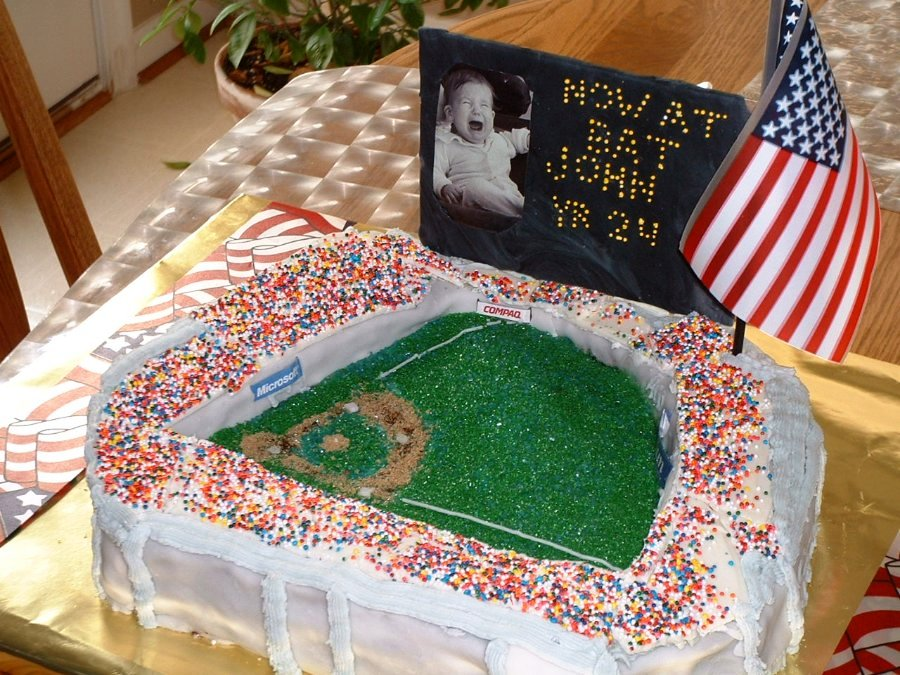 Baseball Field Cake Pictures