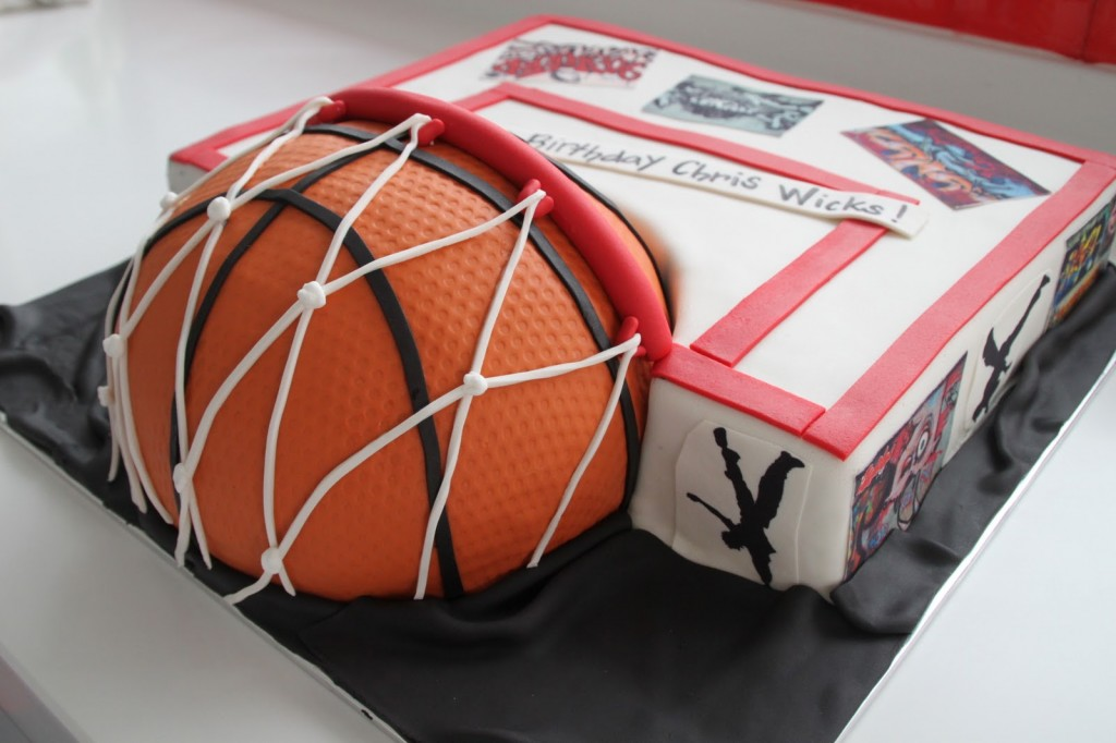 Basketball Cake Pictures
