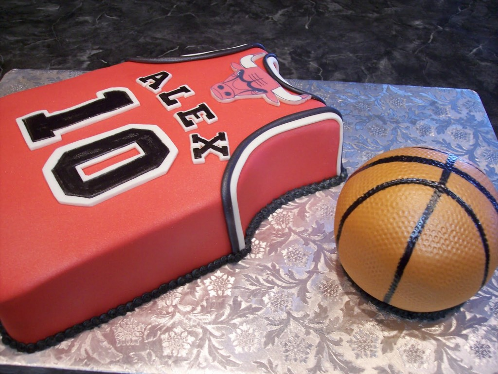 Basketball Cakes Images